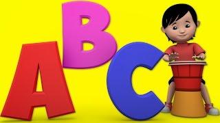 abc canción | alfabetos rima | niños canciones en inglés | rimas | tv de los niños de dibujos animados videos para bebés