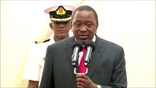 UHURU KENYATTA SPEECH AFTER SWEARING OF PROF GEORGE MAGOHA!!!