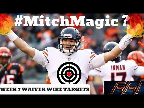 2018 Fantasy Football Advice   Week 7 Top Waiver Wire Targets