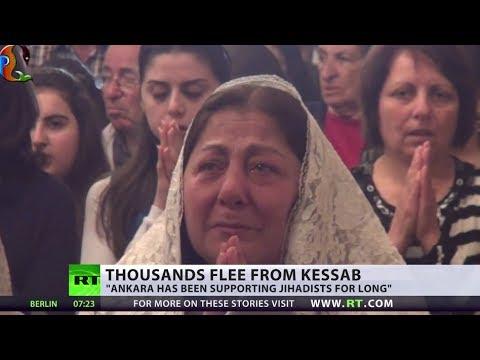 Rebels reportedly seize Syria's Kessab, 2k flee, Armenia accuses Turkey