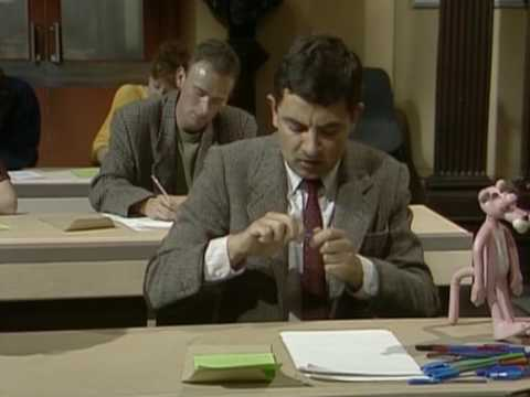 The Exam Cheat | Funny Clip | Mr. Bean Official