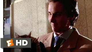 American Psycho (10/12) Movie CLIP - Feed Me a Stray Cat (2000) HD