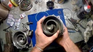 Жөндеу, тығыздамасын ауыстыру компрессор кондиционер CHRYSLER Sebring.