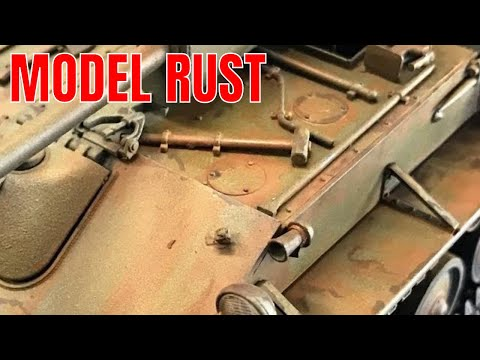 Rusting your plastic models using easy to follow instructions.