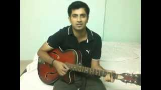 medley- o mere dil k chain+Gulabi Akhein+Bhula do Guitar Unplugged