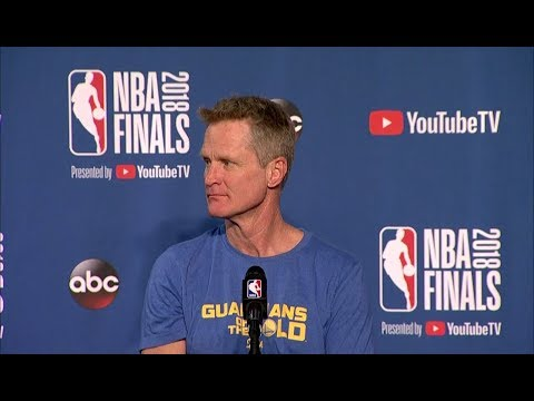 Steve Kerr Interview - Game 4 Preview | Warriors vs Cavaliers | 2018 NBA Finals Media Availability