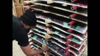 How to make a longboard - Fantail