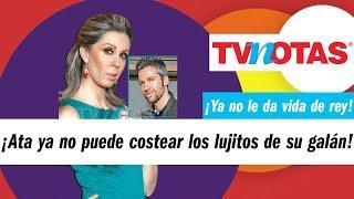 David Ródenas ya no es feliz con Atala Sarmiento porque ya no le da vida de rey