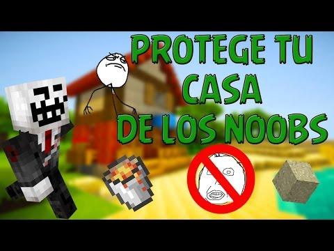 Como proteger tu casa en los servidores de minecraft pe Jose0o7