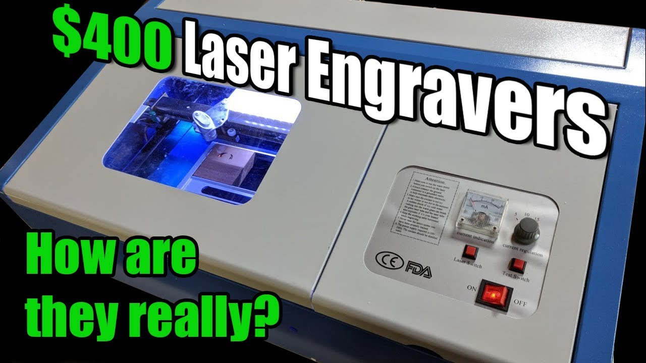 K40 Laser Cutter/Engravers    How Are They Really?!?