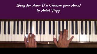 Song for Anna Piano Tutorial at Tempo