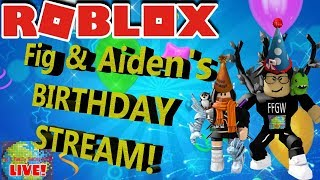 🌎🎮 Roblox | 🔴 Live Stream #144 | IT'S OUR BIRTHDAY TODAY!! 🎮 🌎