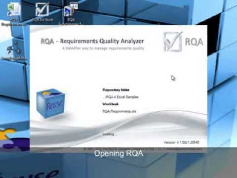 RQA for Excel: Requirements Quality Analyzer