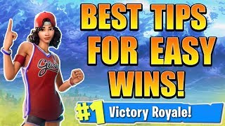 3 BEST Fortnite Tips and Tricks! How to win in Fortnite Season 5! (Fortnite Ps4/Xbox Tips to WIN)