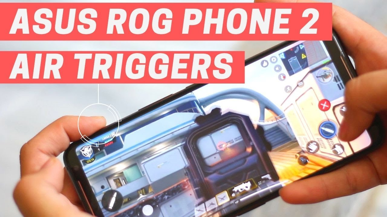 How To Configure And Use Air Triggers On Asus Rog Phone 2 Youtube