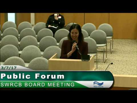 SWRCB Board Meeting 030717