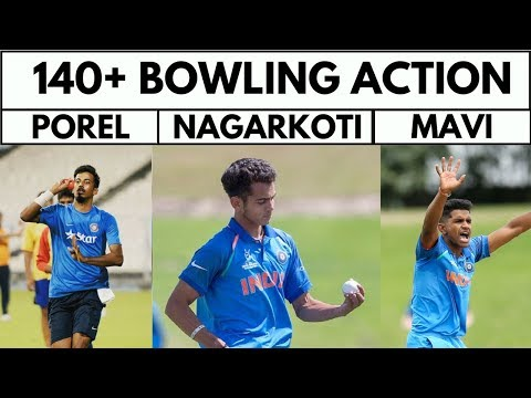 Kamlesh Nagarkoti   Shivam Mavi   Ishan Porel  Speed   Bowling   U19 World Cup   Cricket With Snehal