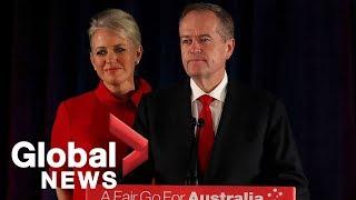Bill Shorten concedes race, quits as Australia's Labor party leader