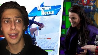 I TAUGHT HER MY DEATHRUN + DUO WIN BATTLE ROYALE!!