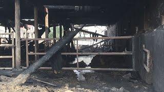 Pożar gospodarstw w Roszkówku. Znana jest przyczyna