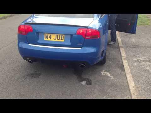 Audi A4 DTM STOCK EXHAUST