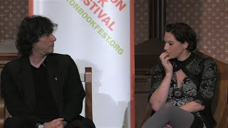 Neil Gaiman Interviews Amanda Palmer @ 2015 Boston Book Fest