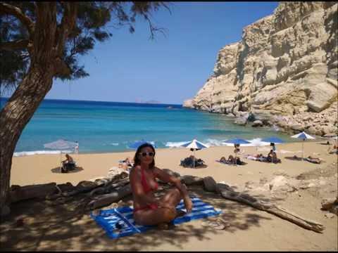 Da Matala alla Red  Beach - 2016 - Creta - Grecia