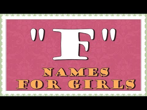 5f7b41785 Baby Girl Names Beginning With F -27 Internationally used names that ...