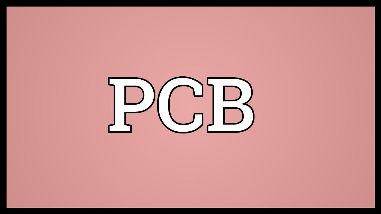 PCB Meaning - YouTube