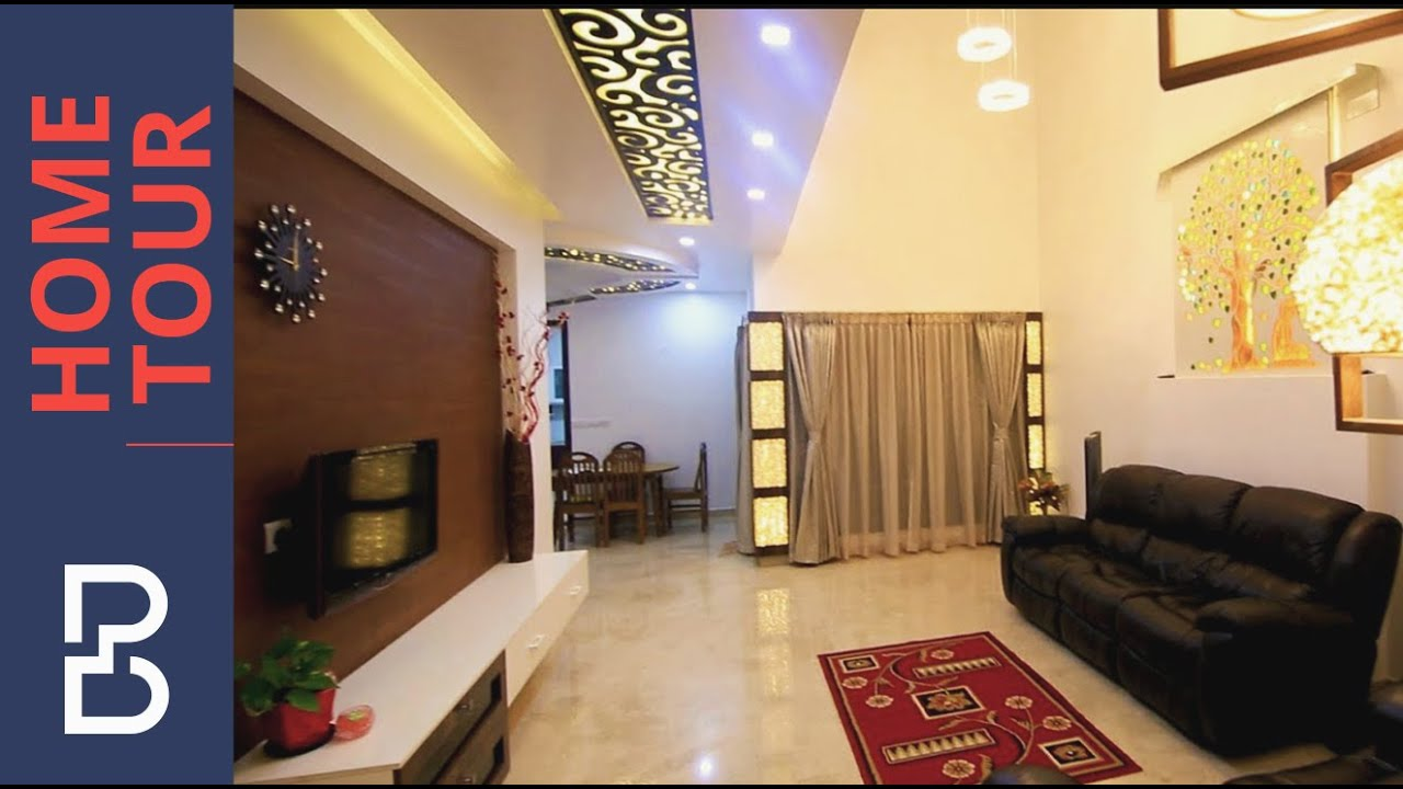 Saravanan anu 39 s 3 bhk villa complete tour interior for Villa interior design bangalore