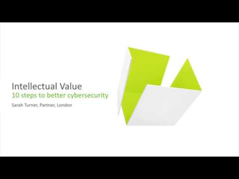 10 steps to better cybersecurity – Intellectual Value 2017