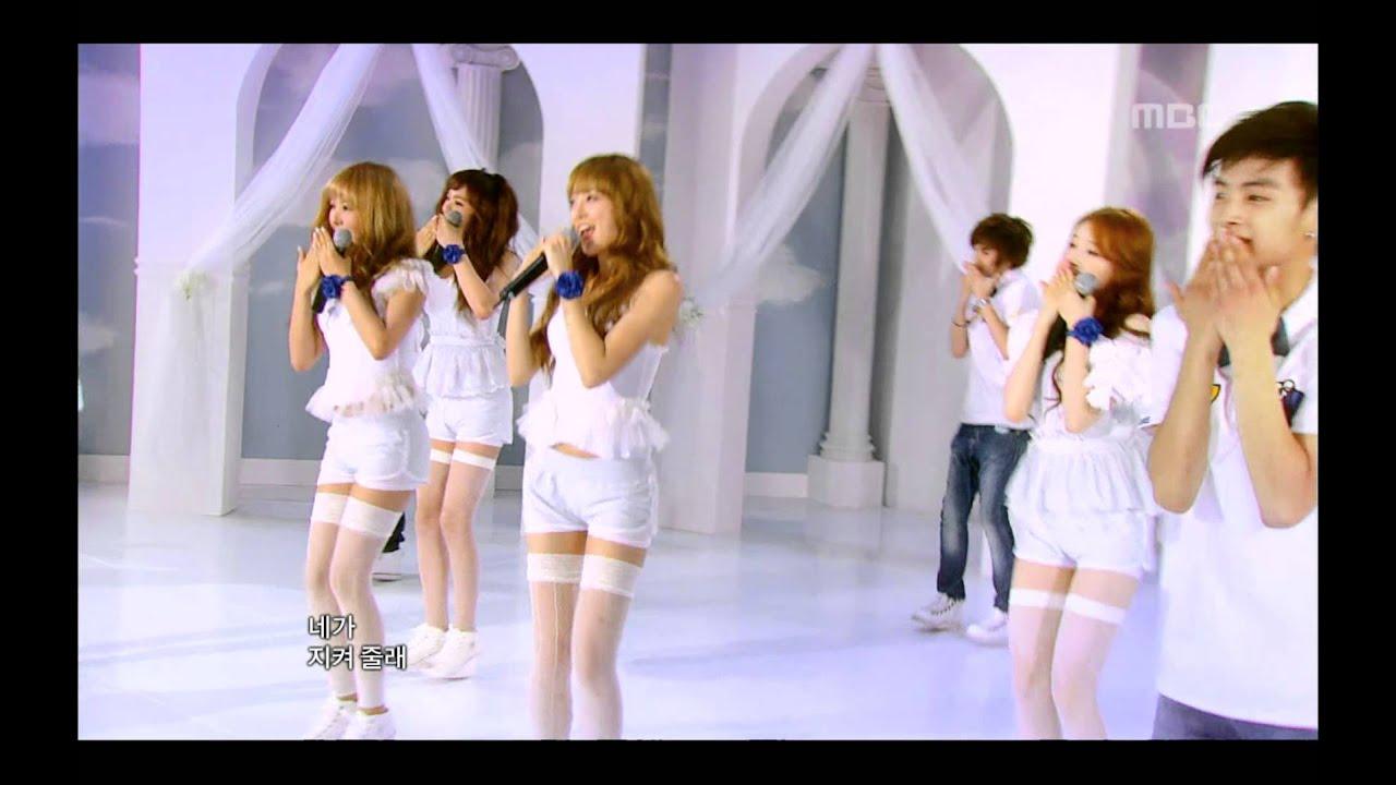 After School Blue - Wonder Boy, 애프터스쿨 블루 - 원더 보이, Music Core 20110723