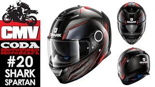SHARK SPARTAN CARBON SILICIUM - motocyklowy kask integralny - Moto Szafa #20 - CODA MV