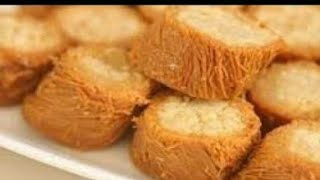 الكنافة البورمة 👌سهلة جدااا💕😘اصنعيها فى مطبخك روووعه (حلويات رمضان🌜)