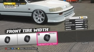 FORZA HORIZON MOD: 800HP K20A2 CR-X SiR UNICORN (PART 1)