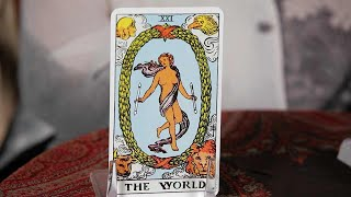 How to Read the World Card   Tarot Cards