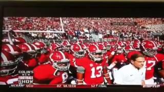 Alabama fan destroys Collin cowherd