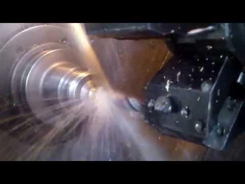Сверление латунной втулки