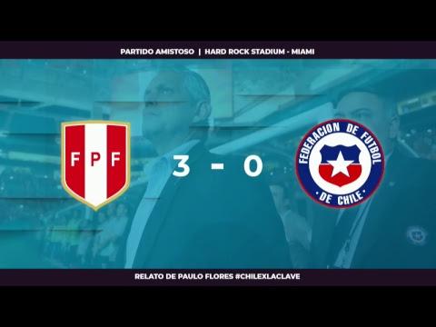 EN VIVO | Perú vs Chile | Relato Paulo Flores | #ChileXLaClave #ConclaveEnLaCancha