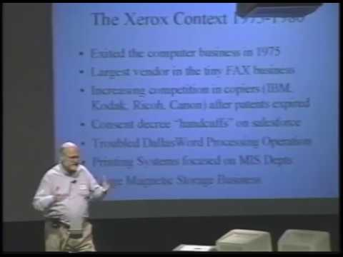 The Final Demonstration of the Xerox 'Star' computer