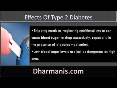 What Are The Short Term And Long Term Effects Of Type 2 Diabetes?