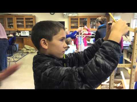 Fifth Grade Engineering: Cantilevers