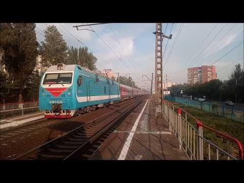 Электровоз ЭП1М-605 с поездом №535С Анапа-Смоленск
