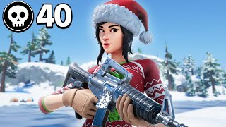 40 Kills In Chapter 2 Fortnite!!
