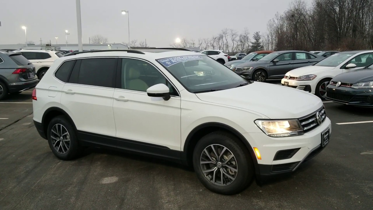 2019 Vw Tiguan 2 0t Se W Panoramic Sunroof And 3rd Row Seats Youtube