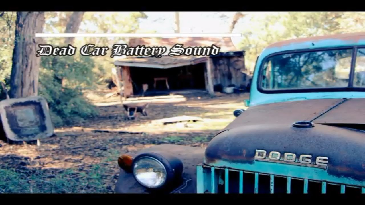 dead car battery sound effect    dead car battery sound  youtube