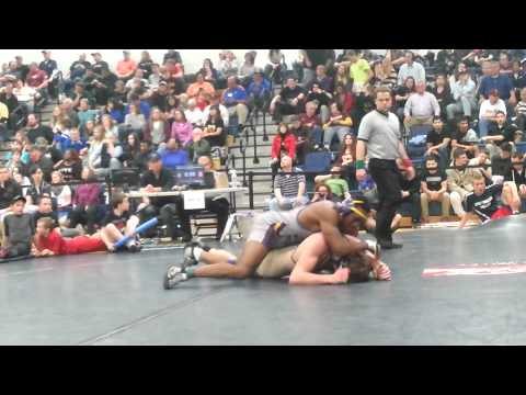 Elijah Seay Wrestler for Staunton River High School 2015 Match