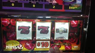 VGT SLOTS - Chasing Red Ruby Step Method at Riverwind Casino Jackpot!