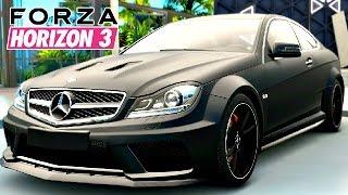 Forza Horizon 3 Gameplay Deutsch #11 - Mercedes Benz C 63 AMG Coupé - Let's Play Forza Horizon 3