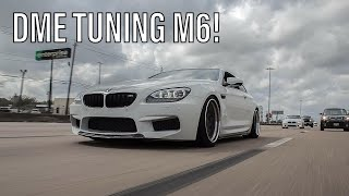 DME Tuning Stage 3 BMW M6 w/ pure TURBOS!